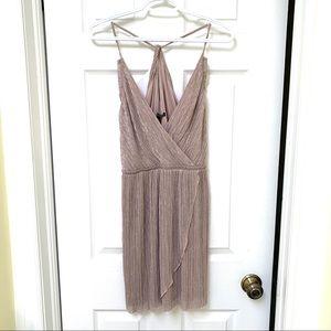 Sparkly mini dress (light pink/mauve)